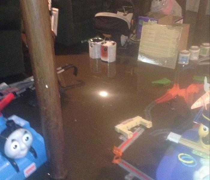 Flooded basement in West Depftord NJ