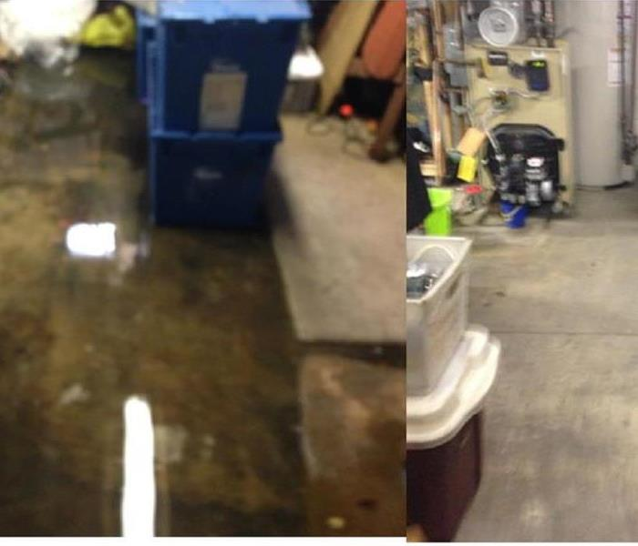 Water Damage due to failed sump pump Pennsauken NJ